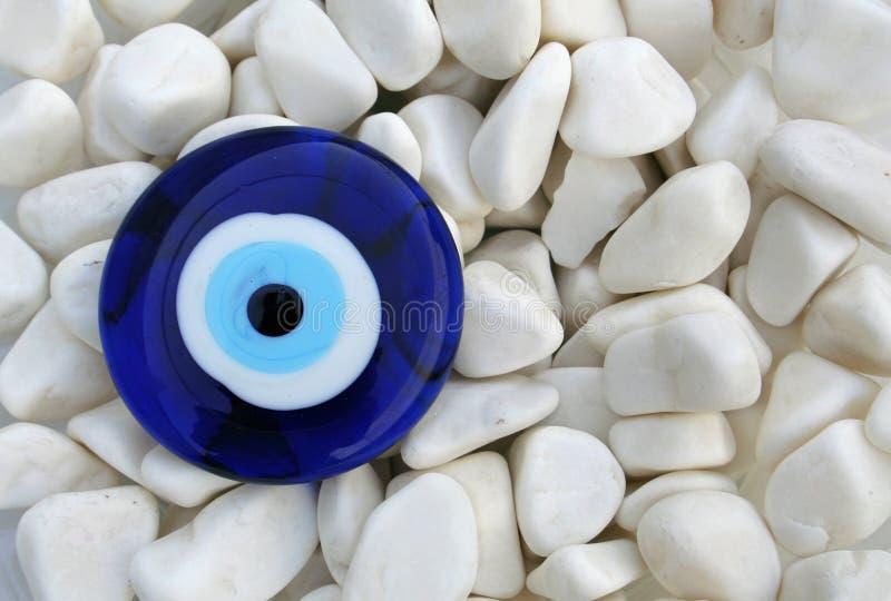 oeil mauvais (amulette) photo libre de droits