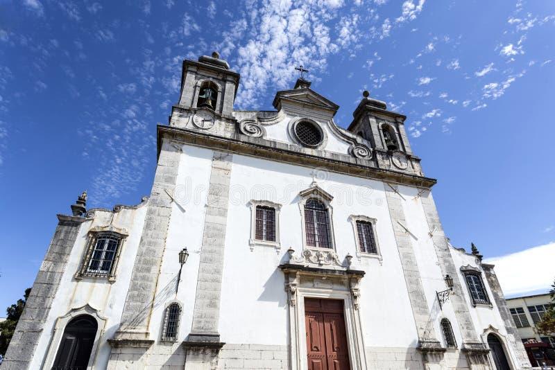 Oeiras教区教堂 免版税库存图片