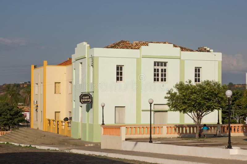 Oeiras, la prima capitale del Piaui, Brasile fotografia stock
