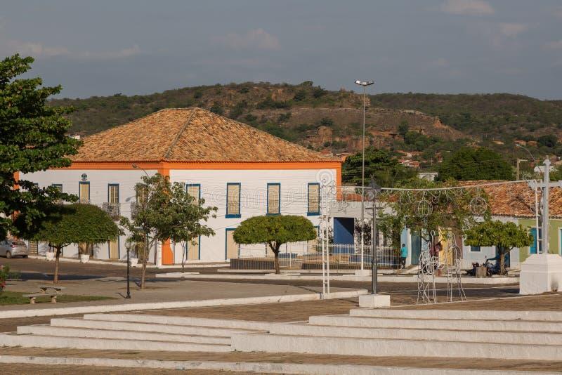 Oeiras, la prima capitale del Piaui, Brasile fotografia stock libera da diritti