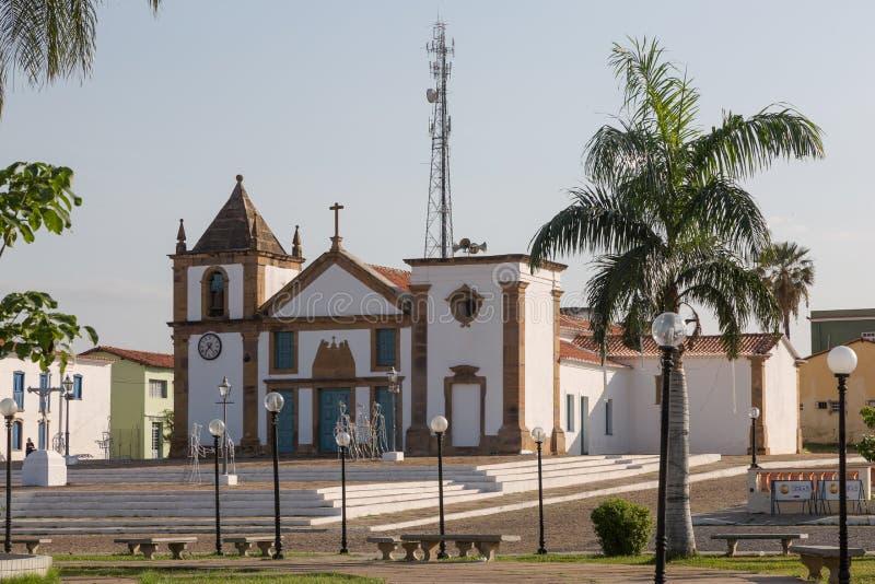 Oeiras, la prima capitale del Piaui, Brasile fotografie stock