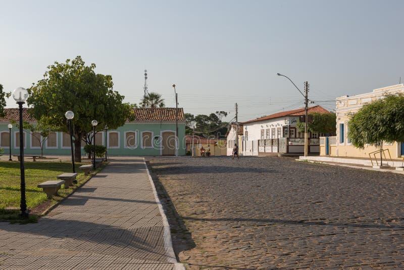 Oeiras, la prima capitale del Piaui, Brasile immagini stock libere da diritti