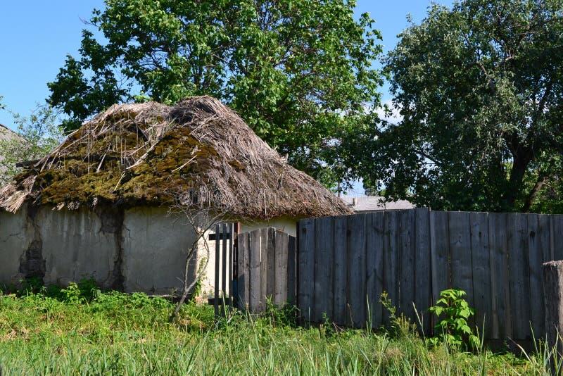 Oekraïens dorp royalty-vrije stock afbeelding