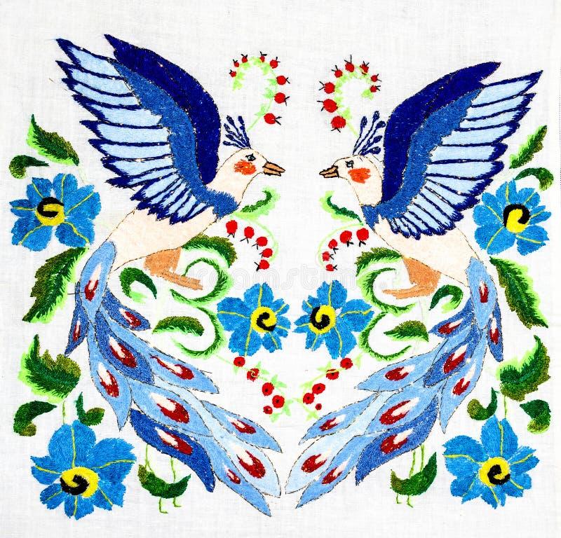 Oekraïens volksborduurwerk royalty-vrije stock afbeelding