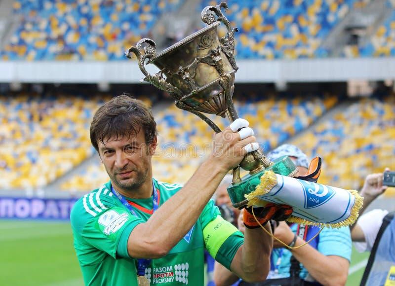 Oekraïense Eerste Liga: Dynamo Kyiv versus Oleksandria stock afbeeldingen