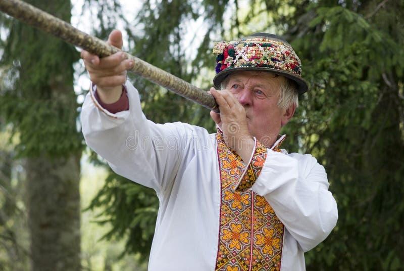 Oekraïense Hutsul stock afbeelding
