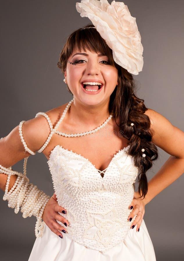 Oekraïense meisjesmanier, de bruid royalty-vrije stock foto