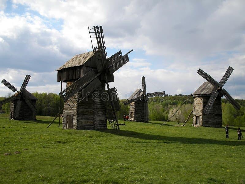 Oekraïense molens stock afbeelding