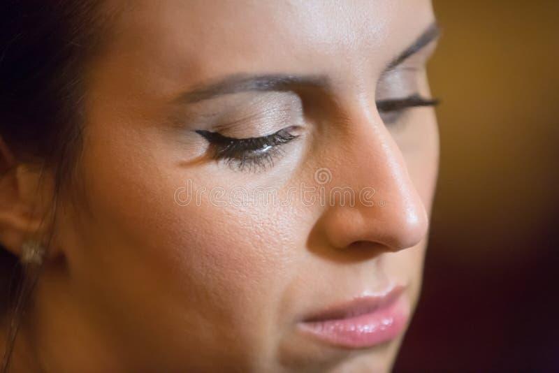 Oekraïense zanger, actrice en songwriter Jamala stock afbeelding