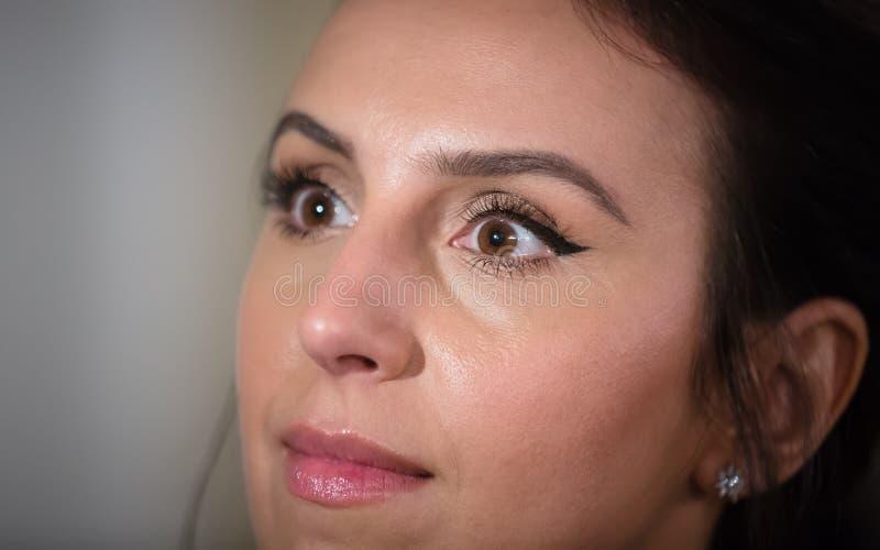 Oekraïense zanger, actrice en songwriter Jamala stock fotografie