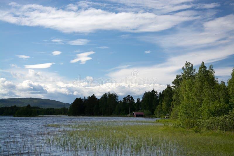 Oelsund, Gaevleborgs Laen,瑞典 免版税库存图片