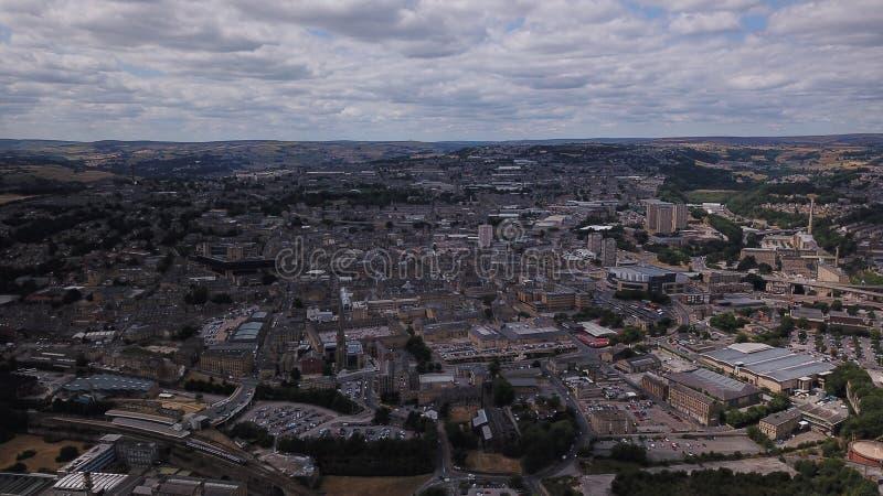Oeste de Halifax - yorkshire Inglaterra Reino Unido Reino Unido imagens de stock