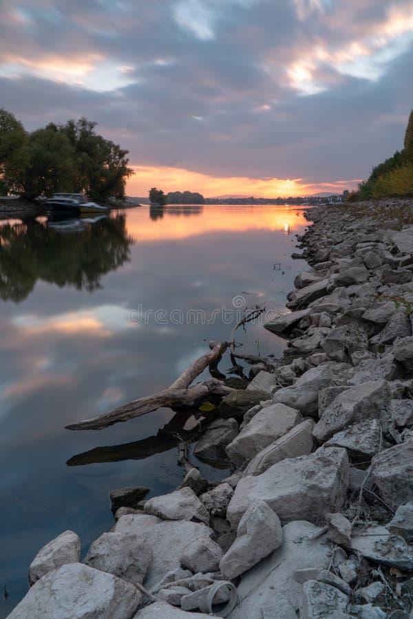 Oestrich Winkel, Rheingau obrazy stock