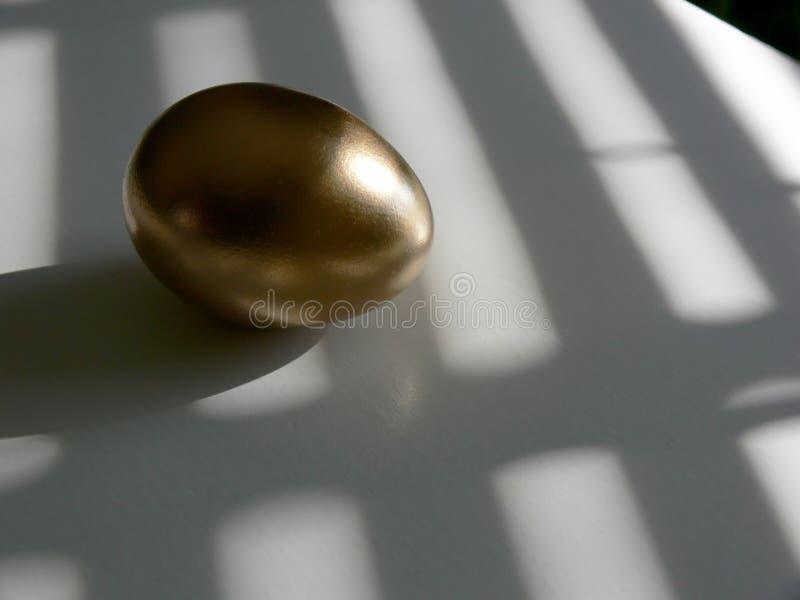 Oeuf d'or 2 photographie stock libre de droits
