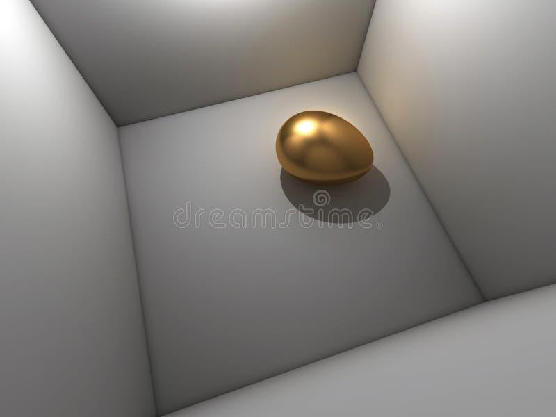 Oeuf d'or illustration de vecteur