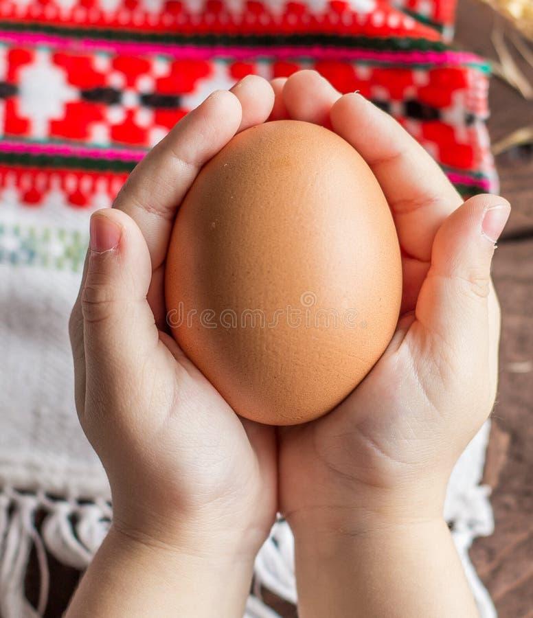 Oeuf de poulet images libres de droits