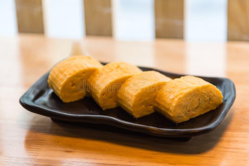 Oeuf japonais frais images stock