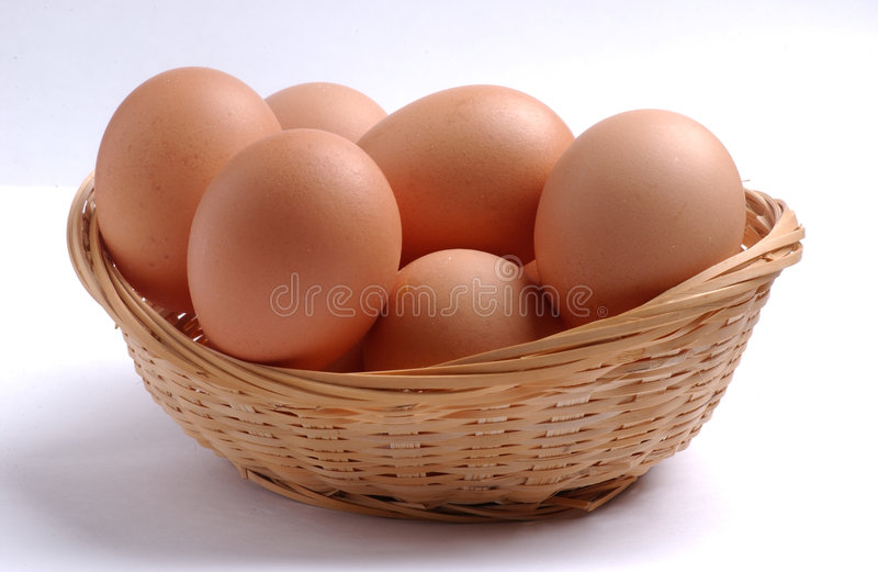 Oeufs photo stock