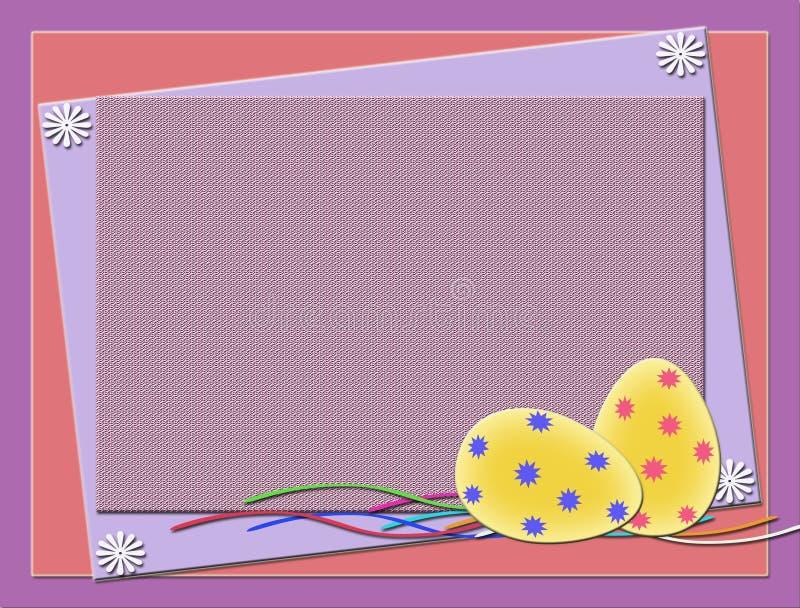 Oeufs de pâques illustration libre de droits
