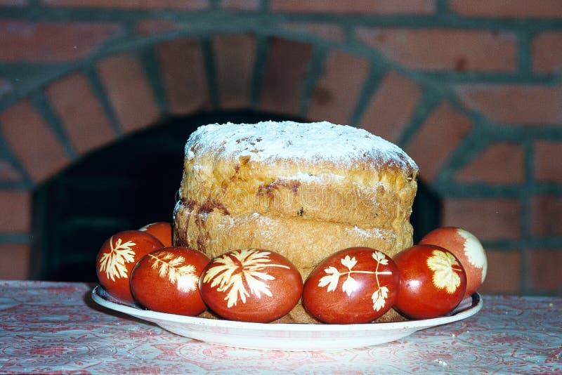 Oeufs de pâques exotiques photo stock