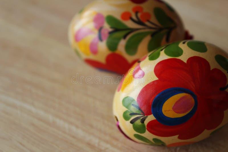 Oeufs de pâques de Hongrois image stock