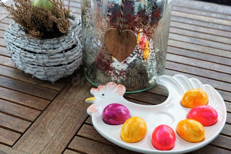 Oeufs pour Pâques images stock