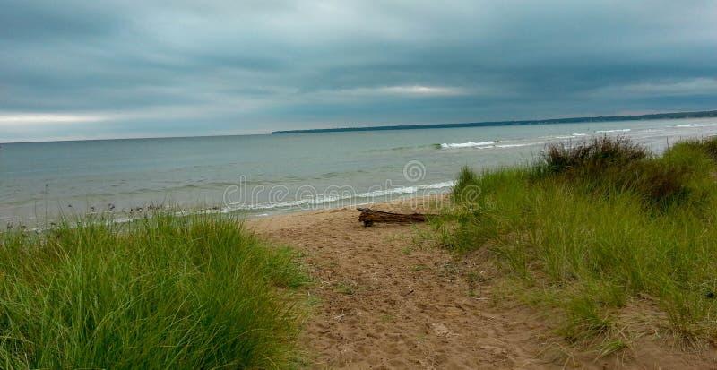 Download Oever op Meer Michigan stock afbeelding. Afbeelding bestaande uit michigan - 107701721