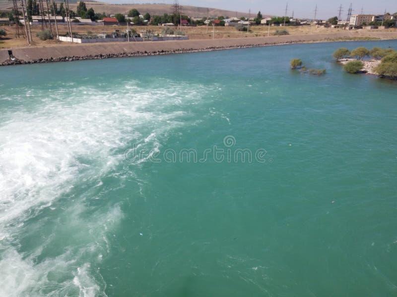 In Oezbekistan stock afbeelding