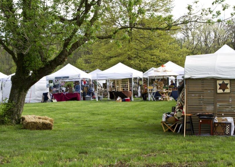 Ofício da comunidade justo no festival da morango fotografia de stock royalty free
