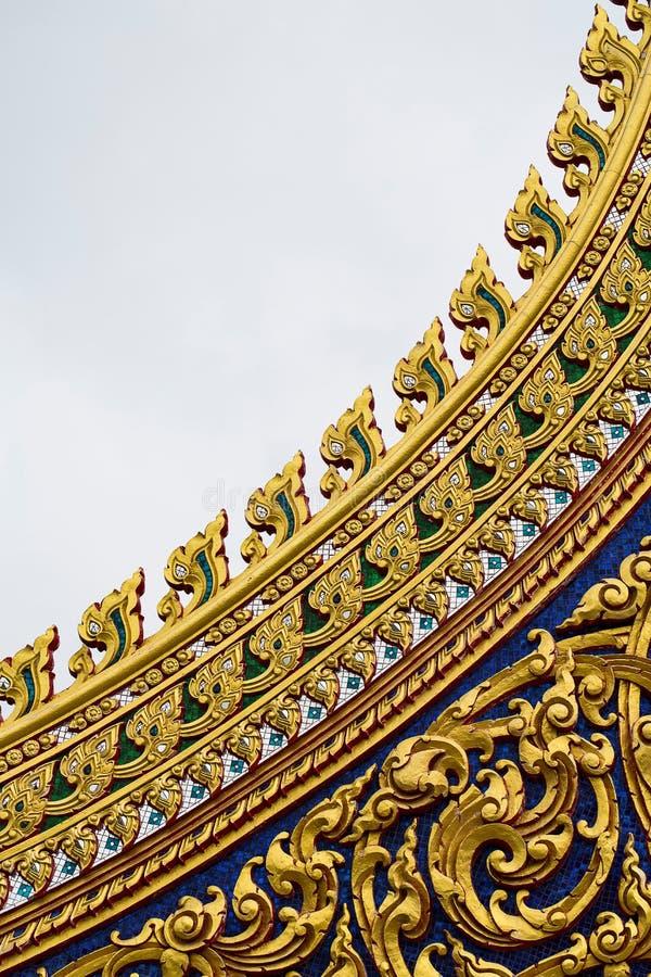 Ofício tailandês: Teste padrão TAILANDÊS de LAI fotografia de stock royalty free