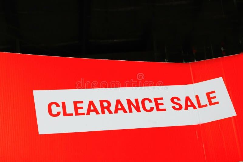 Oferta da liquidação total para produtos/serviços foto de stock royalty free