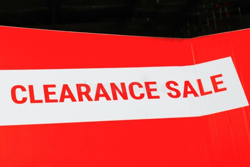 Oferta da liquidação total para produtos/serviços fotos de stock royalty free