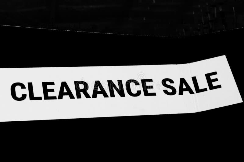 Oferta da liquidação total para produtos/serviços fotos de stock