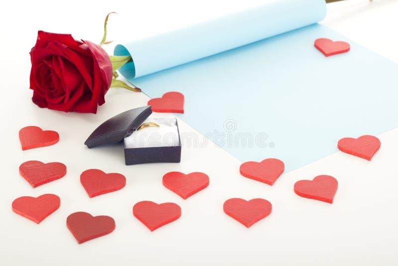 Oferta de la boda fotos de archivo libres de regalías