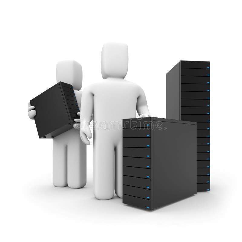 A oferta de serviços do server