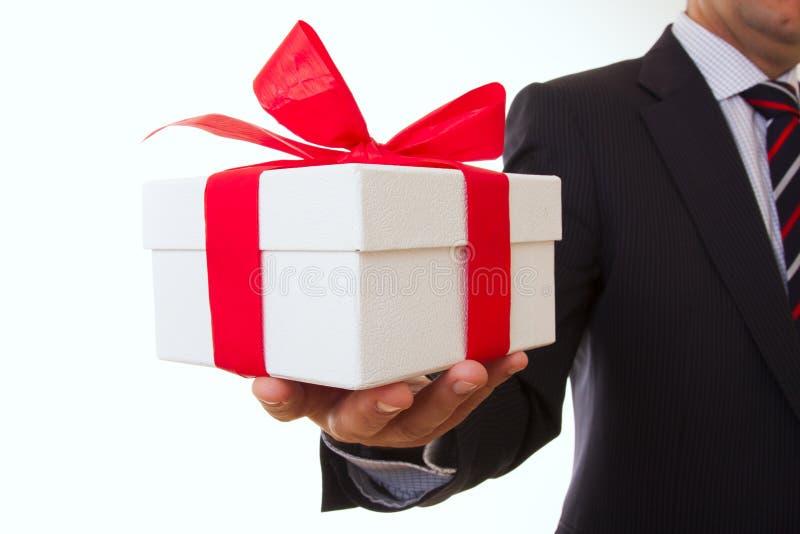 Oferta del hombre de negocios fotografía de archivo libre de regalías