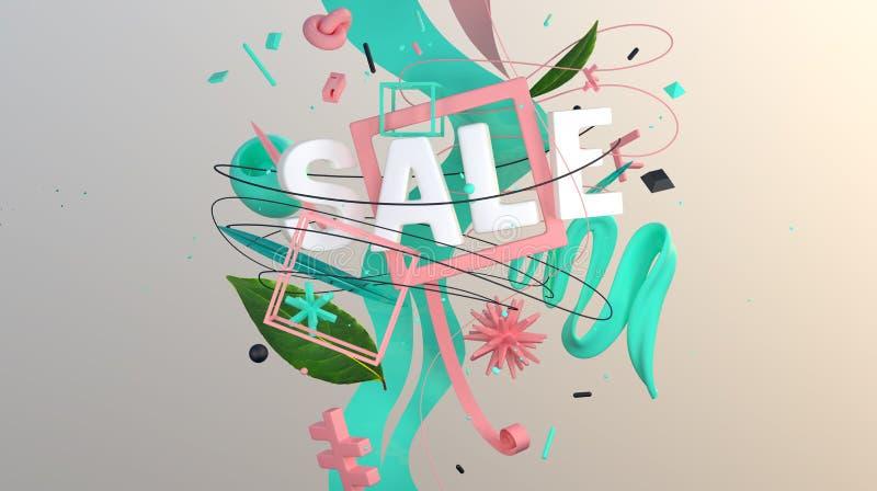 Oferta estupenda de la venta stock de ilustración