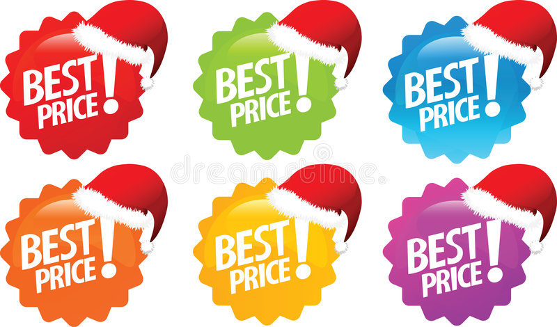 oferty najlepsza cena ilustracja wektor