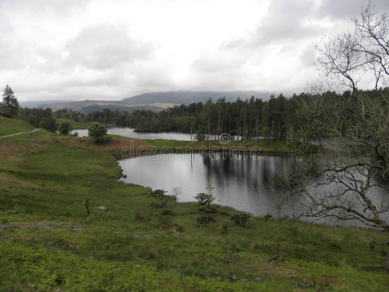 Off the beaten track Cumbrian Lake royalty free stock photos