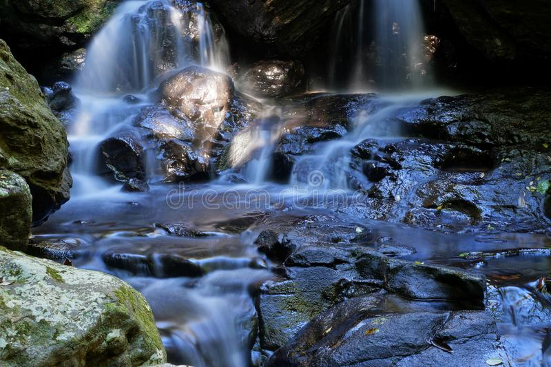 Hidden Waterfall stock photography