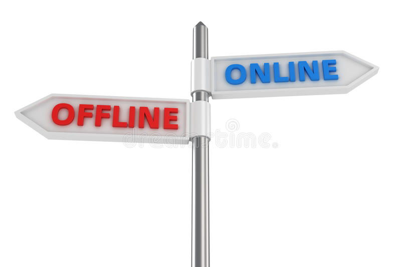 Off-$l*line ή on-line απεικόνιση αποθεμάτων