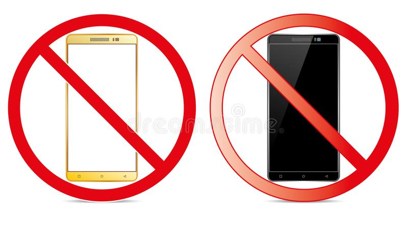 Off Mobile Sign Switch Off Phone Icon No Phone Allowed Mobile