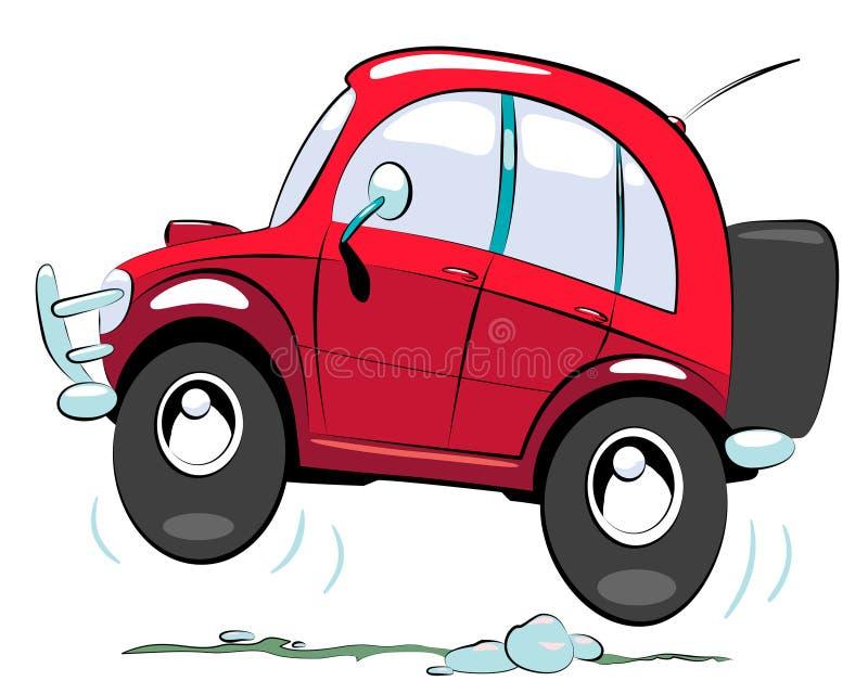 Off-road auto royalty-vrije illustratie