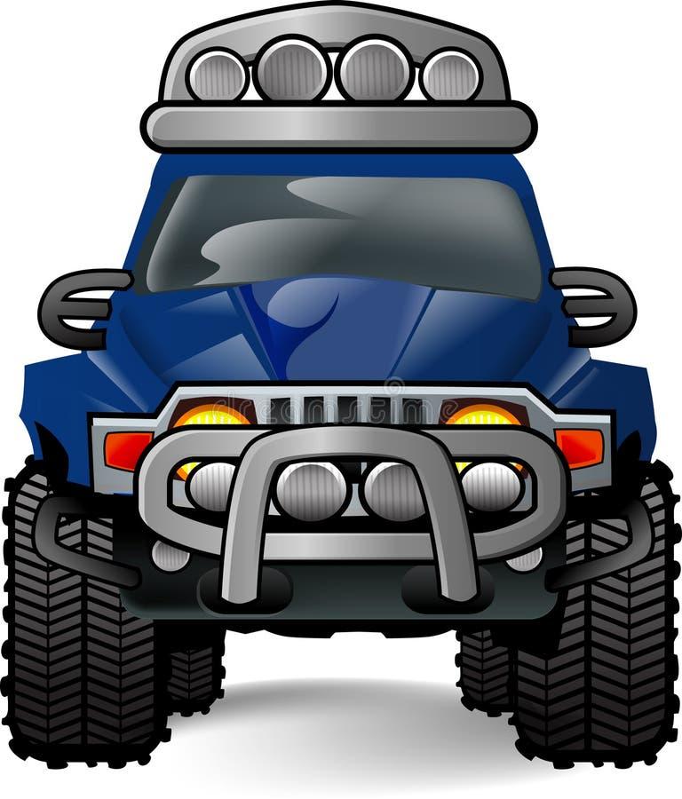OFF ROAD CAR vector illustration