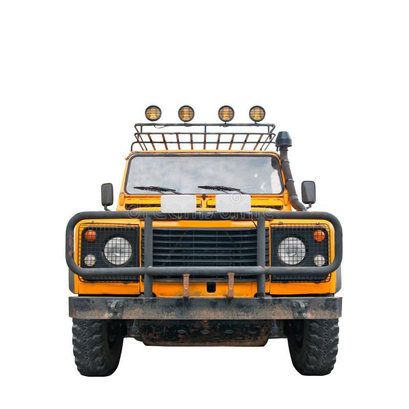 Safari Jeep royalty free stock photo