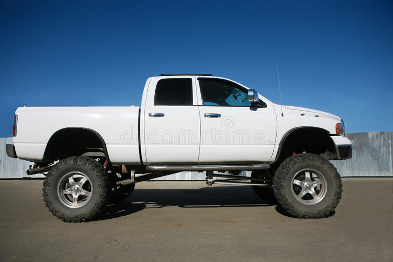 Download Off-road Car On The Big Wheels Stock Photo - Image: 27342848
