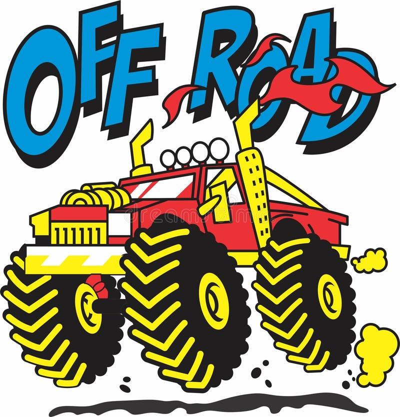 Off road car for boys design vector illustration
