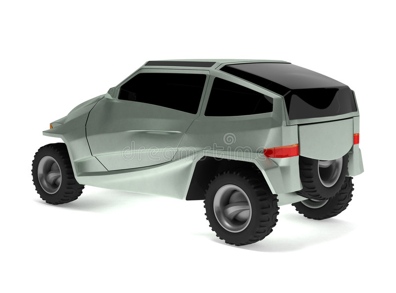 Download Off-road Car Concept Is Named Rex Stock Illustration - Illustration of transportation, concept: 6250371