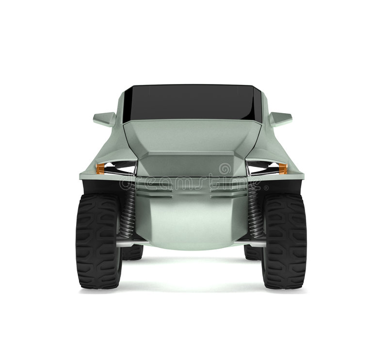 Off-road Car Concept is named Rex