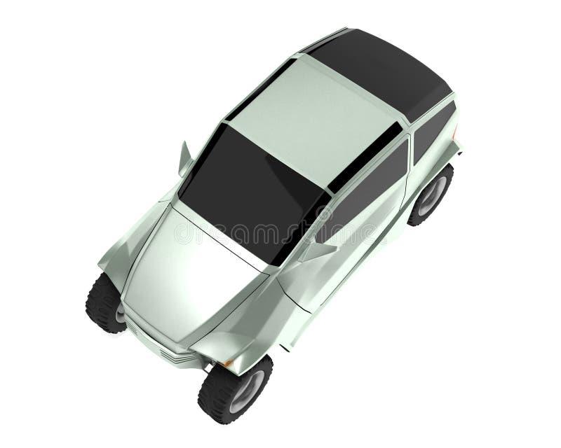 Download Off-road Car Concept Is Named Rex Stock Illustration - Image: 6250407